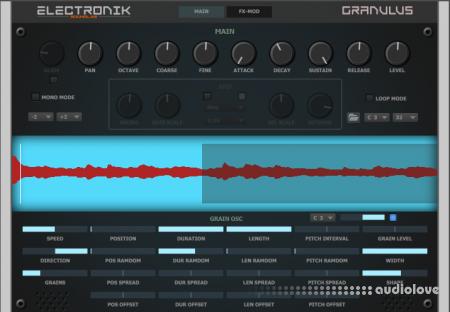 Electronik Sound Lab Granulus v1.0 Halion Sonic SE3