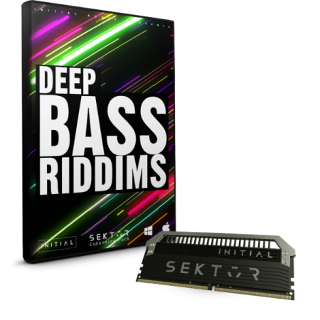 Initial Audio Deep Bass Riddims SEKTOR EXPANSION