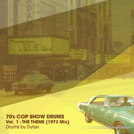 Dylan Wissing 70's COP SHOW DRUMS Vol.1 The Theme (1973 Mix) WAV