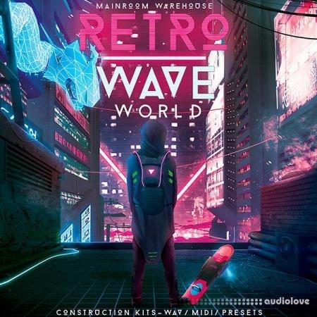 Mainroom Warehouse Retrowave World WAV MiDi Synth Presets