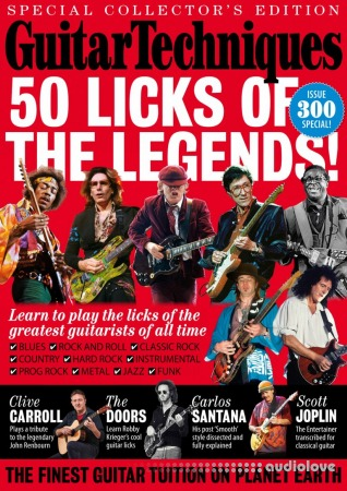 Guitar Techniques 50 Licks Of The Legends 2019