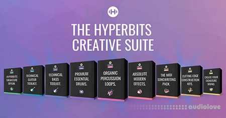 Hyperbits Creative Suite WAV MiDi Synth Presets TUTORiAL