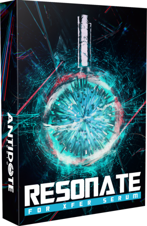 Antidote Audio Resonate for Xfer Serum Synth Presets
