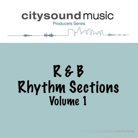 Citysound RnB RHYTHM SECTIONS Vol.1 WAV