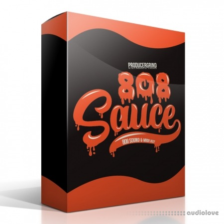 "Producergrind The ""808 Sauce"" 808 Drum and MIDI Kit"