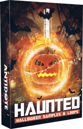 Antidote Audio Haunted Halloween Samples and Loops