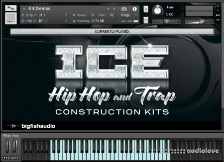 Big Fish Audio ICE Hip Hop and Trap Construction Kits