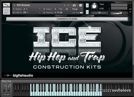 Big Fish Audio ICE Hip Hop and Trap Construction Kits MULTiFORMAT KONTAKT