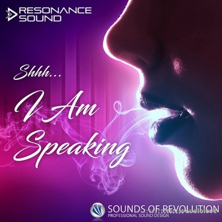 Resonance Sound Shhh I Am Speaking Vocal Samples WAV
