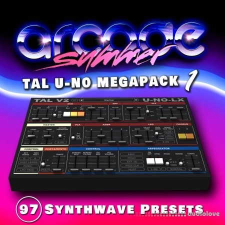 Arcade Summer Presets Megapack 1- 4 Synth Presets
