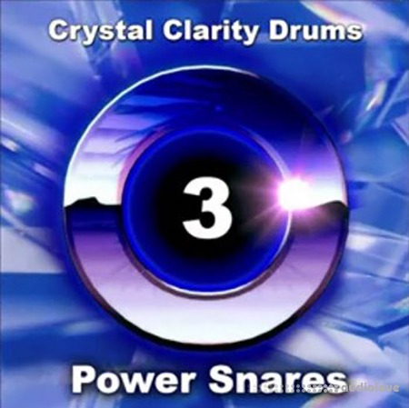 Arcade Summer Crystal Clarity Drums 3 Power Snares WAV