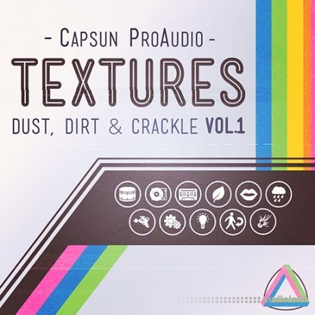 CAPSUN ProAudio Textures Dust Dirt and Crackle Vol.1 MULTiFORMAT