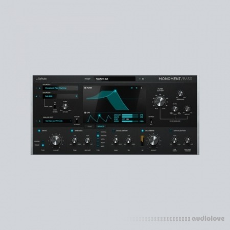 Softube Monoment Bass WAV