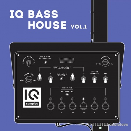 IQ Samples IQ Bass House Vol.1 WAV Synth Presets