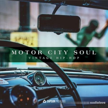 CAPSUN ProAudio Motor City Soul Vintage Hip-Hop WAV