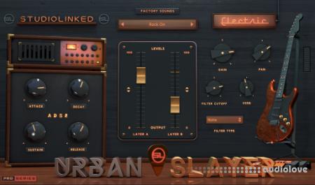 StudioLinkedVST Urban Slayer Electric WiN MacOSX