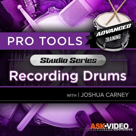 Ask Video Pro Tools 503 Recording Drums TUTORiAL