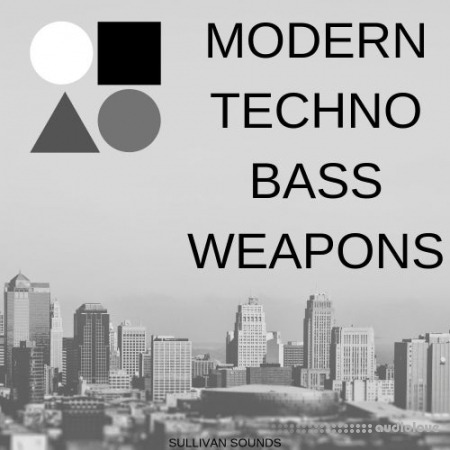 Sullivan Sounds Modern Techno Bass Weapons WAV