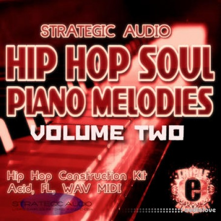 Strategic Audio Hip Hop Soul Piano Melodies Vol.2 WAV MiDi DAW Templates