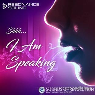 Resonance Sound Shhh I Am Speaking Vocal Samples