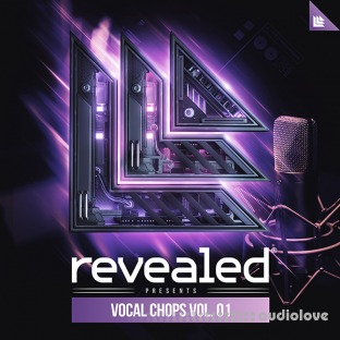 Alonso Sound Revealed Recordings Vocal Chops Vol.1