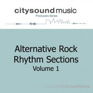 Citysound ALTERNATIVE ROCK RHYTHM SECTIONS Vol.1