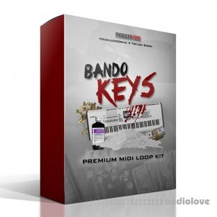 "Producer Grind THE ""Bando Keys"" PREMIUM MIDI and WAV LOOP KIT"