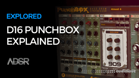 ADSR Sounds Exploring the D16 Punchbox TUTORiAL