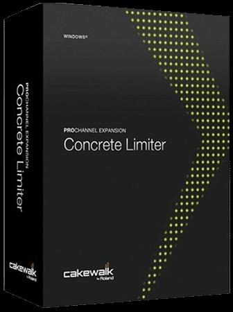 Cakewalk ProChannel Concrete Limiter