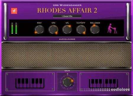 Audiolounge Urs Wiesendanger Rhodes Affair 2 Preset Player