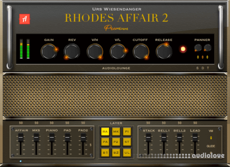 Audiolounge Urs Wiesendanger Rhodes Affair 2 Premium WiN MacOSX