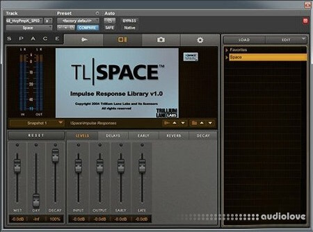 Avid Space Impulse Response Library WAV