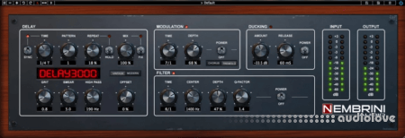 Nembrini Audio Delay3000 v1.0.2 WiN