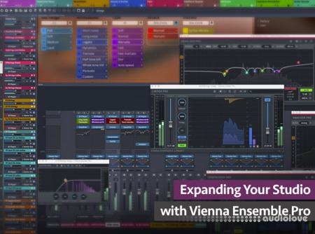 Groove3 Expanding Your Studio with Vienna Ensemble Pro TUTORiAL