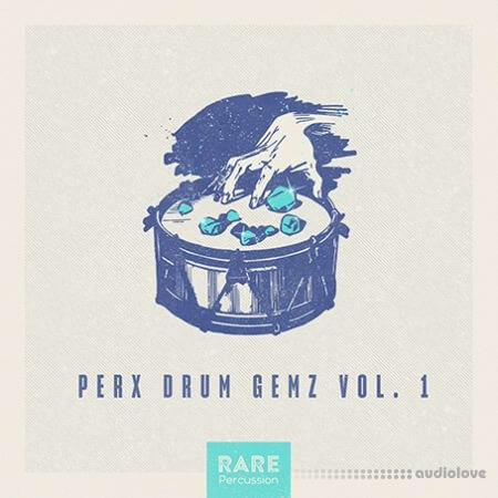 RARE Percussion Perx Drum Gemz Vol.1 WAV