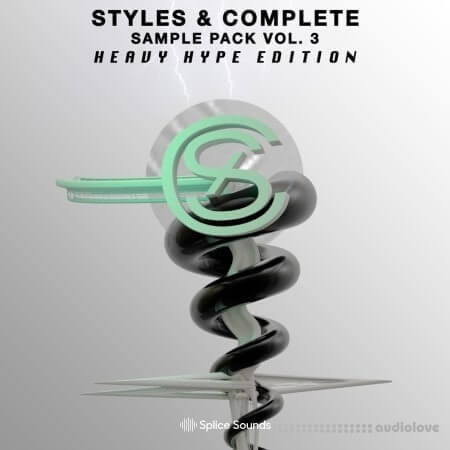 Splice Sounds Styles and Complete Sample Pack Vol.3: The Heavy Hype Edition WAV
