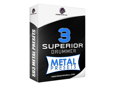 Presets For All METAL PRESETS Superior Drummer 3 Presets Pack Synth Presets