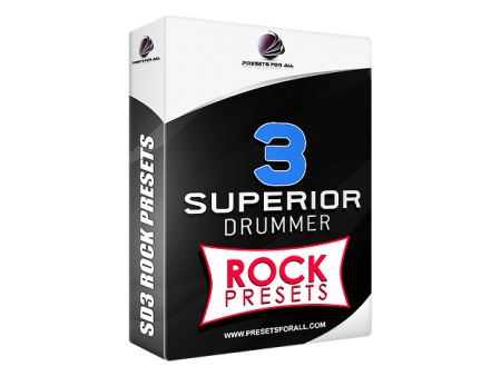 Presets For All ROCK PRESETS Superior Drummer 3 Presets Pack Synth Presets