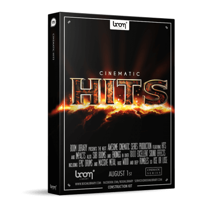 Boom Library Cinematic Hits Construction Kit WAV