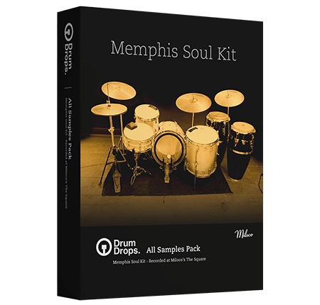 DrumDrops Memphis Soul Kit All Samples Pack MULTiFORMAT