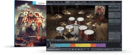 Toontrack The Rock Foundry SDX SOUNDBANK Superior Drummer