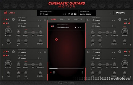 Sample Logic Cinematic Guitars Motion KONTAKT