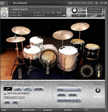 DrumDrops Memphis Soul Kit The Kontakt 5 Pack KONTAKT