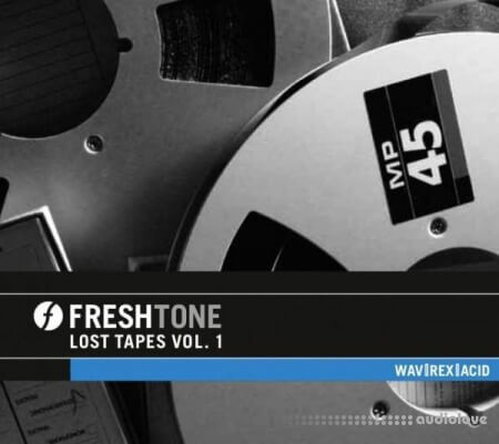 Freshtone Samples Lost Tapes Volume 1 WAV REX AiFF