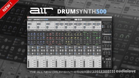 AIR Music Technology Drumsynth 500 v1.0.0 WiN