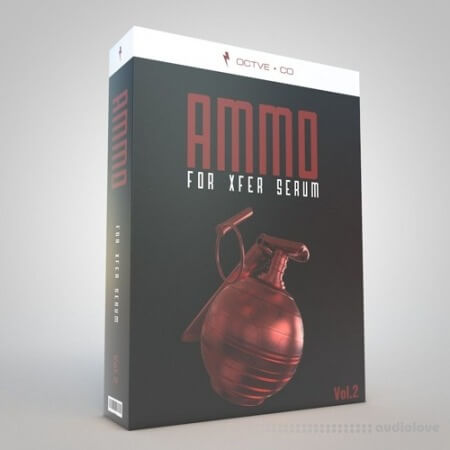 OCTVE.CO Ammo Vol.2 for Xfer Serum WAV Synth Presets