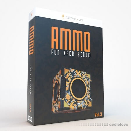 OCTVE.CO Ammo Vol.3 for Xfer Serum WAV Synth Presets