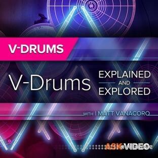Ask Video V-Drums 101 V-Drums Explained and Explored