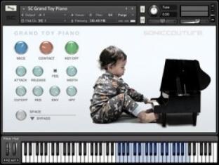 Soniccouture Grand Toy Piano