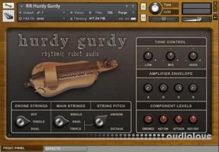 Rhythmic Robot Audio Hurdy Gurdy